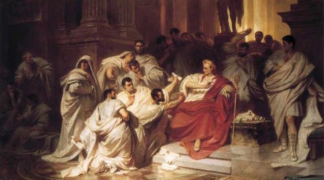 Đúng ngày này hơn 2.000 năm trước, Caesar đã chết thảm vì 23 nhát dao ám muội - Ảnh 3.