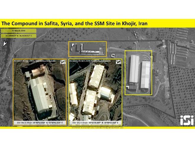 Cơ sở sản xuất tên lửa Iran phía tây Syria xuất hiện trên hình ảnh vệ tinh - Ảnh 3.