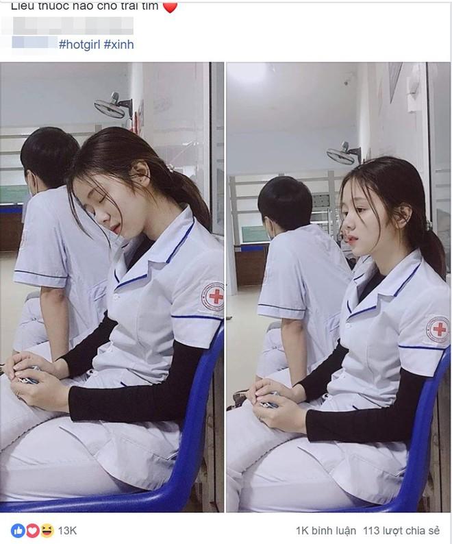Nữ điều dưỡng gây sốt MXH vì tấm ảnh ngủ gật, nhưng thông tin về cô khiến nhiều người hụt hẫng - Ảnh 1.