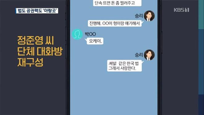 Lộ tin nhắn bóc mẽ thói quen thao túng luật pháp và xem thường cơ quan chức năng của Seungri: Đưa ít tiền là được - Ảnh 3.
