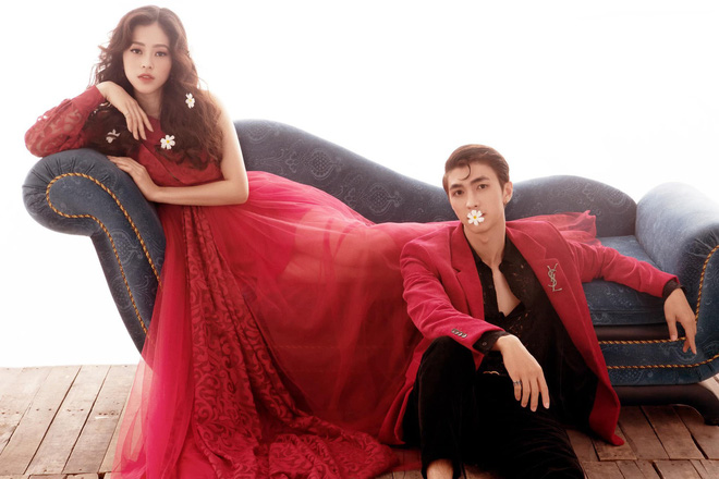 Đóng phim cặp đại gia già nhưng ngoài đời Bình An lại yêu Á hậu xinh đẹp và nóng bỏng - Ảnh 3.