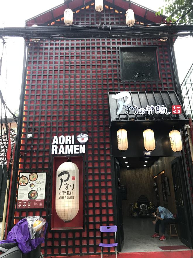 Quán mì Aori Ramen tại Hà Nội ra sao sau vụ bê bối của ca sĩ Seungri? - Ảnh 1.
