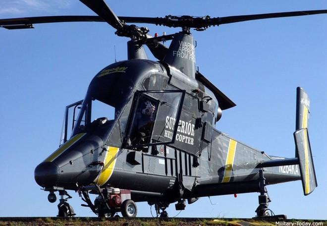 Soi sức mạnh trực thăng vận tải không người lái Kaman K-MAX - Ảnh 1.