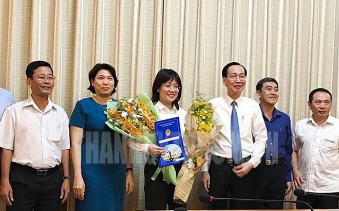 Nhân sự mới TPHCM, Đà Nẵng, Long An