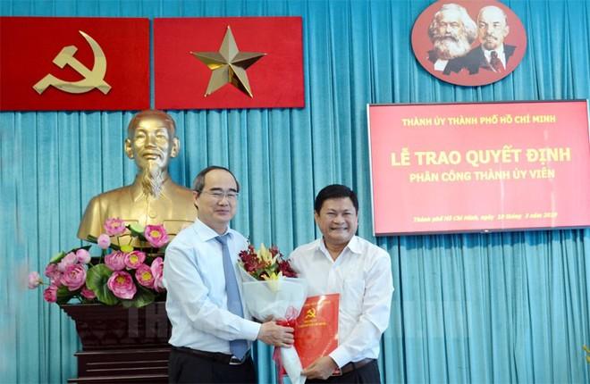 Nhân sự mới TPHCM, Đà Nẵng, Long An - Ảnh 1.