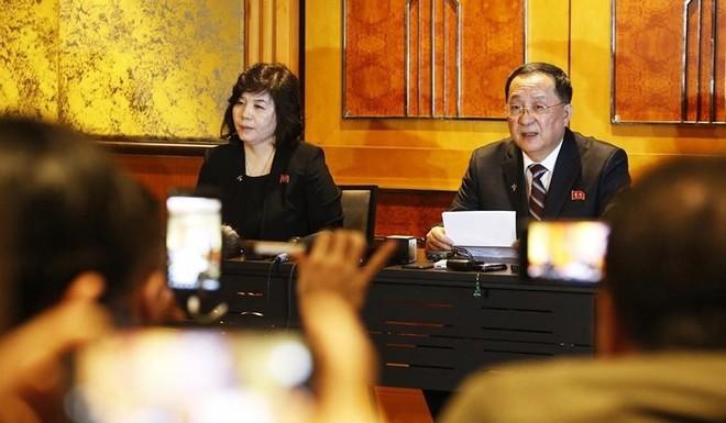 Quan chức Mỹ phản hồi nội dung Triều Tiên họp báo - Ảnh 2.