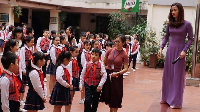 Ngôi trường có học sinh nhiều lần đón nguyên thủ quốc gia - Ảnh 1.