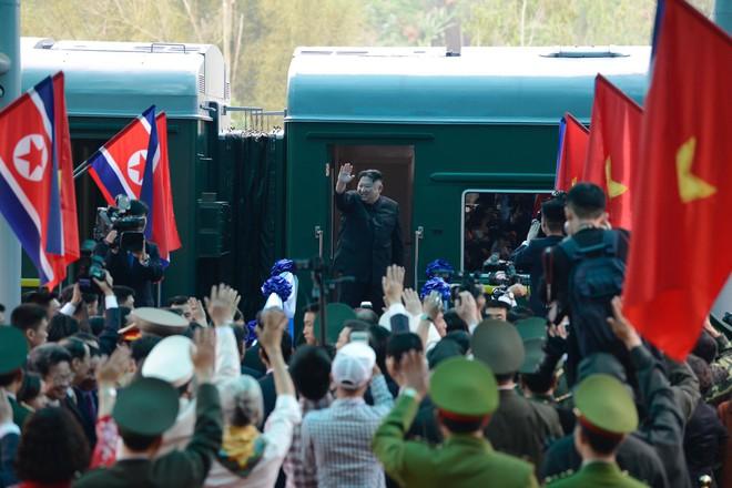 [Ảnh] Toàn cảnh hành trình từ Hà Nội đến Đồng Đăng của Chủ tịch Triều Tiên Kim Jong-un - Ảnh 73.