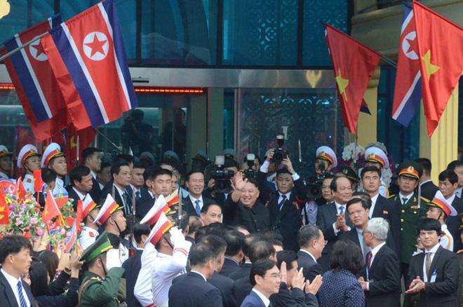 [Ảnh] Toàn cảnh hành trình từ Hà Nội đến Đồng Đăng của Chủ tịch Triều Tiên Kim Jong-un - Ảnh 68.