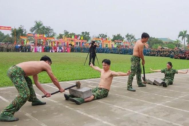 Đại đội Trinh sát 20 và đặc nhiệm Biên phòng đua tài võ nghệ, khí công - Ảnh 6.