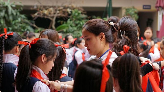 Ngôi trường có học sinh nhiều lần đón nguyên thủ quốc gia - Ảnh 11.