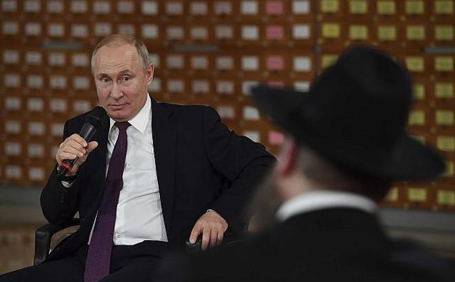 Nói đùa về người Do Thái trong chuyến thăm Crimea, ông Putin bị báo Israel phản ứng gay gắt