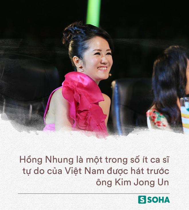 Hồng Nhung: Làn hơi khủng khiếp và đẳng cấp của diva được chọn hát trước mặt ông Kim Jong Un (P2) - Ảnh 5.