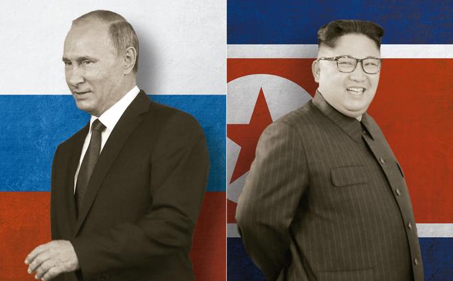 """Báo đảng Triều Tiên tích cực """"khoe"""" mối quan hệ khăng khít với Nga: Thông điệp dằn mặt Mỹ?"""