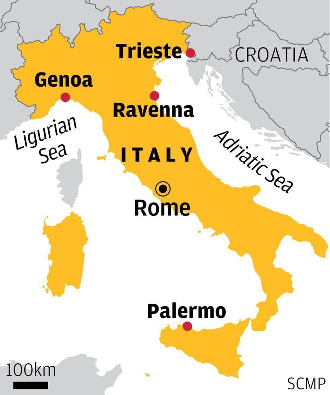 Italia có thể mở cửa 4 cảng biển từ Bắc chí Nam cho Trung Quốc - Ảnh 1.