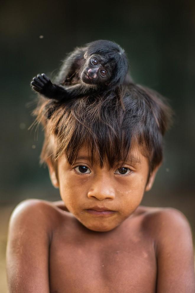 Câu chuyện xúc động và sự thật tàn khốc ít ai biết về em bé 11 tuổi mồ côi sống cùng chú khỉ con trong rừng sâu - Ảnh 5.