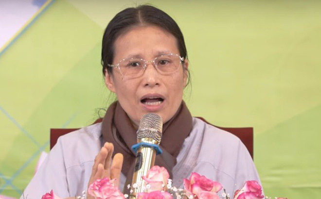 """Bà Yến chùa Ba Vàng nói """"không xúc phạm, không xin lỗi"""" gia đình nữ sinh giao gà bị sát hại"""