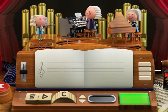 Tri ân Johann Sebastian Bach, gã khổng lồ Google lần đầu tiên trong lịch sử dùng thứ này - Ảnh 3.