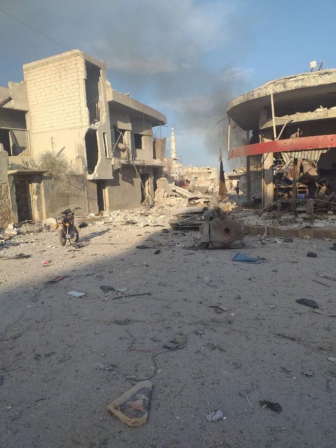 Không quân Nga ồ ạt tấn công, đợt đánh lớn chưa từng có: Syria lại nóng hơn bao giờ hết - Ảnh 3.