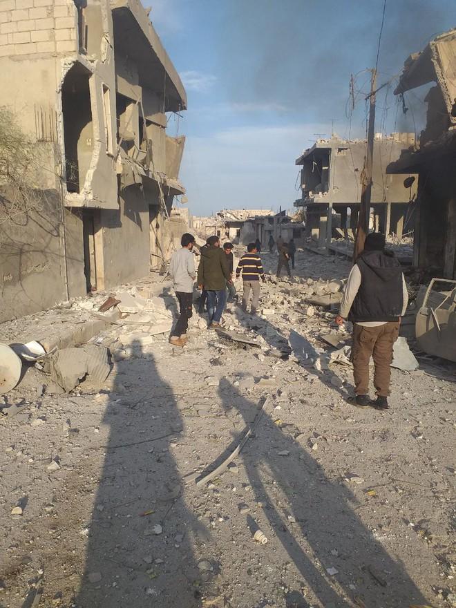 Không quân Nga ồ ạt tấn công, đợt đánh lớn chưa từng có: Syria lại nóng hơn bao giờ hết - Ảnh 4.