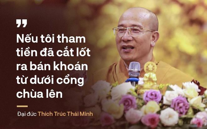 Thượng tọa Thích Thanh Quyết nói về trụ trì chùa Ba Vàng: Đã là Phật, là Thánh gì đâu! - Ảnh 1.