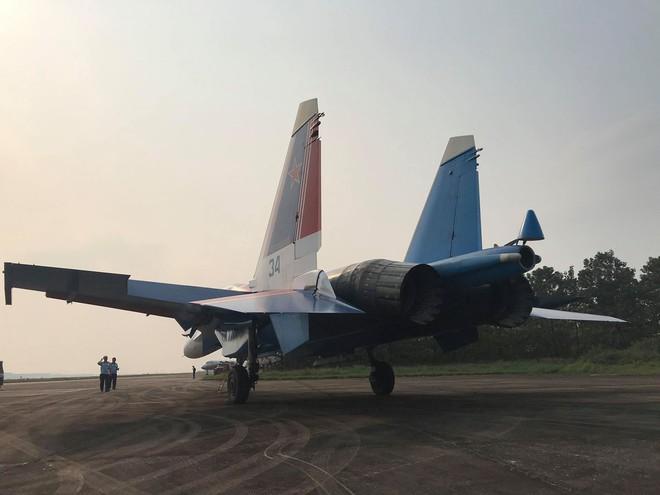 Cận cảnh chiến đấu cơ quái thú Su-30SM Hiệp sĩ Nga ở Việt Nam: Chỉ hai từ cực đẹp! - Ảnh 19.