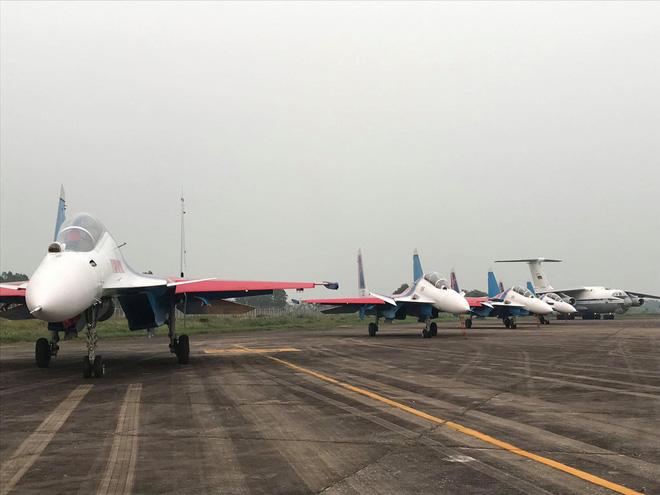 Cận cảnh chiến đấu cơ quái thú Su-30SM Hiệp sĩ Nga ở Việt Nam: Chỉ hai từ cực đẹp! - Ảnh 28.
