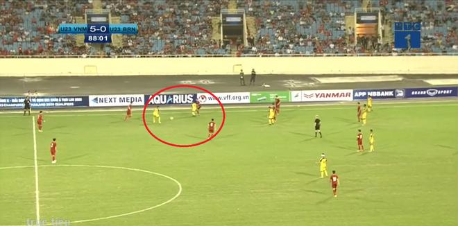 Cả trận không sút quả nào, Brunei vẫn khiến U23 Việt Nam phải giật mình - Ảnh 2.