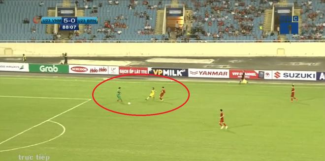 Cả trận không sút quả nào, Brunei vẫn khiến U23 Việt Nam phải giật mình - Ảnh 6.