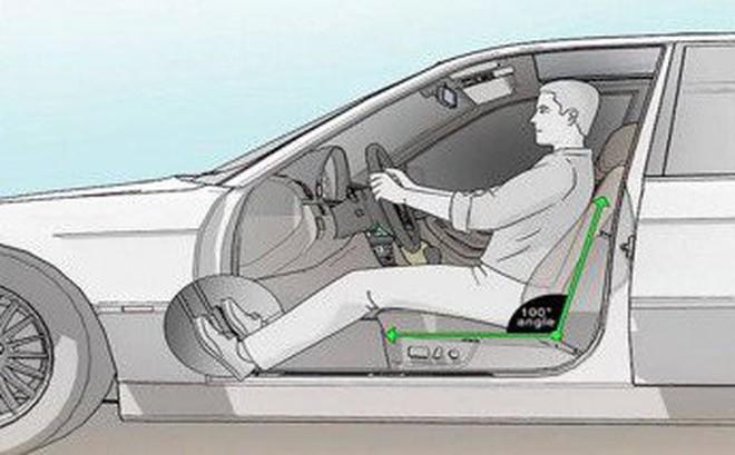 Cách chỉnh ghế lái và tư thế ngồi lái ô tô đúng nhất
