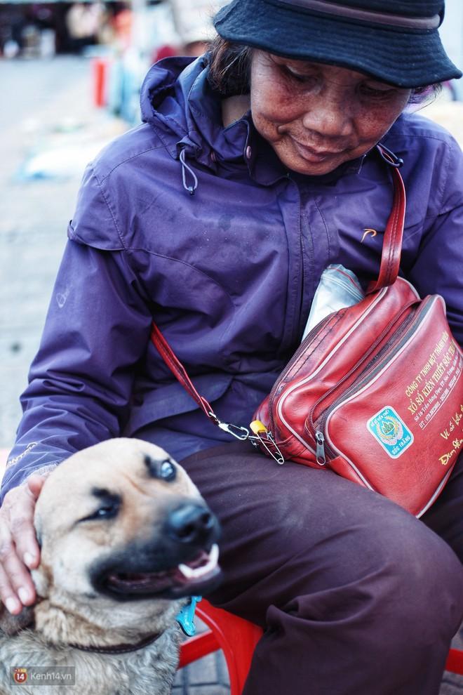 Câu chuyện đáng yêu của người phụ nữ bán vé số và chú chó lang thang ở Đà Lạt - Ảnh 3.