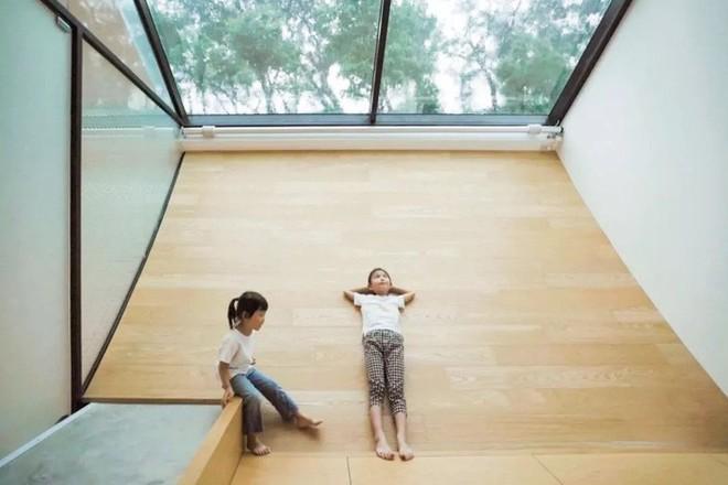 Ngôi nhà độc đáo không có mái giành huy chương vàng trong cuộc thi thiết kế nội thất - Ảnh 10.