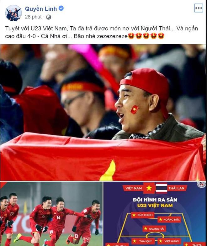 Việt Nam thắng trận lịch sử trước U23 Thái Lan, sự phấn khích tràn ngập khắp mạng xã hội - Ảnh 6.