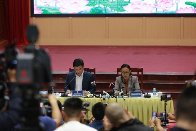 Quảng Ninh họp báo vụ chùa Ba Vàng: Đang thẩm định phát ngôn xúc phạm cô gái giao gà để xử lý theo luật - Ảnh 5.