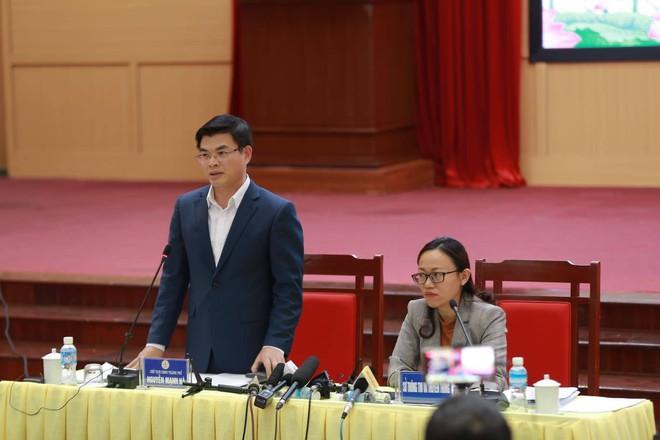 Quảng Ninh họp báo vụ chùa Ba Vàng: Đang thẩm định phát ngôn xúc phạm cô gái giao gà để xử lý theo luật - Ảnh 4.