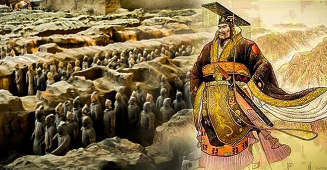 Tại sao đội quân đất nung trong lăng mộ Tần Thủy Hoàng không đội mũ giáp? - Ảnh 2.