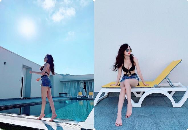 Midu, Khổng Tú Quỳnh cùng loạt mỹ nhân Việt thi nhau diện bikini đốt mắt khán giả - Ảnh 3.