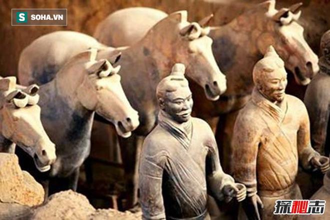 Tại sao đội quân đất nung trong lăng mộ Tần Thủy Hoàng không đội mũ giáp? - Ảnh 5.