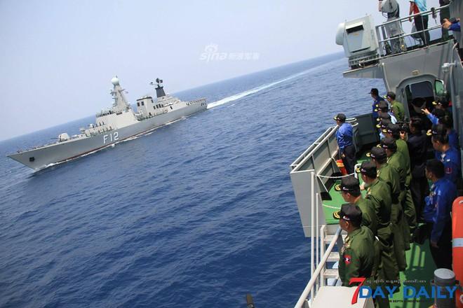 Choáng ngợp trước uy lực dàn chiến hạm nội địa của Hải quân Myanmar - Ảnh 3.
