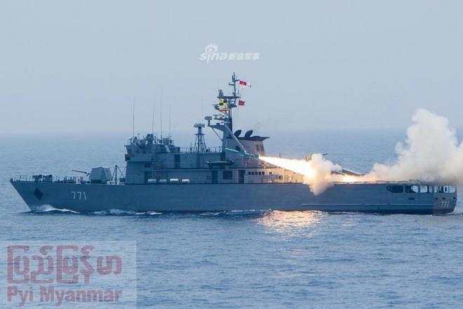 Choáng ngợp trước uy lực dàn chiến hạm nội địa của Hải quân Myanmar - Ảnh 6.