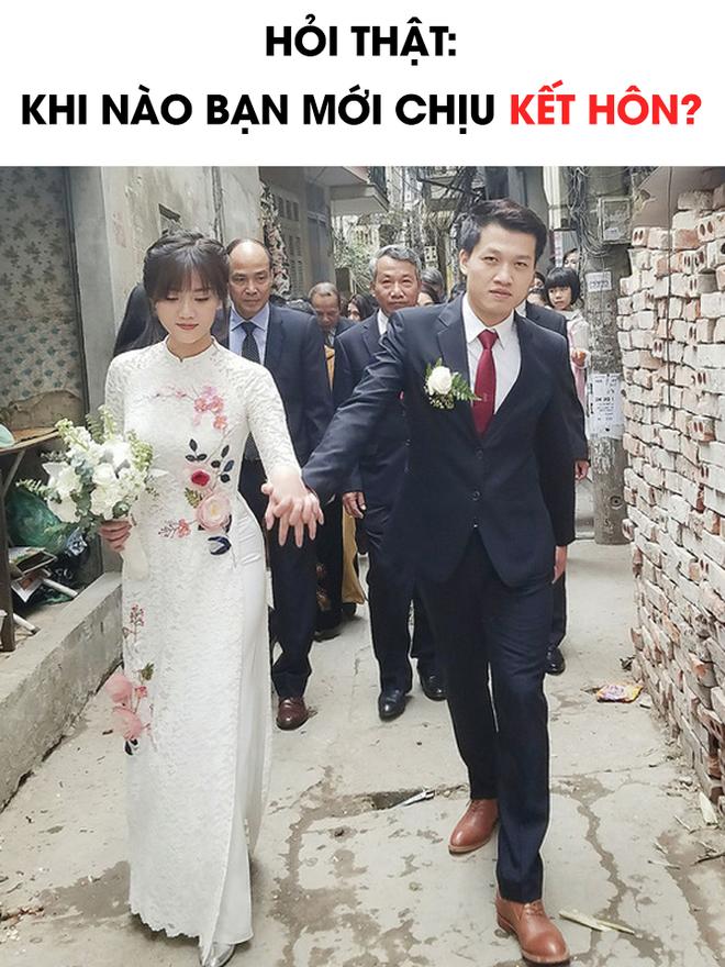 Khi nào mới chịu kết hôn: Có người cần mua xong 2 mảnh đất, người thì ngay ngày mai cưới cũng được! - Ảnh 1.