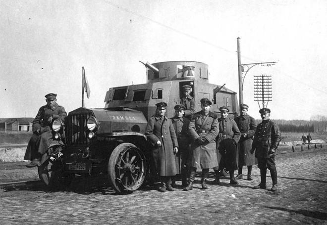 Ảnh hiếm về các loại vũ khí và công nghệ sử dụng trong Thế chiến I - Ảnh 19.