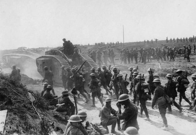 Ảnh hiếm về các loại vũ khí và công nghệ sử dụng trong Thế chiến I - Ảnh 5.