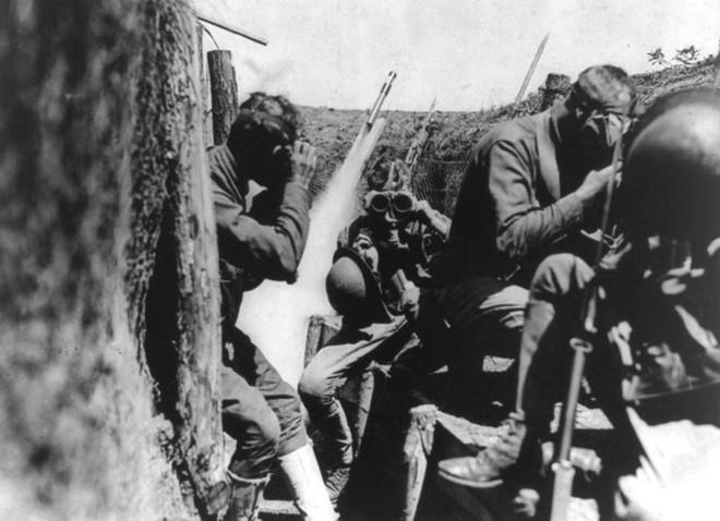 Ảnh hiếm về các loại vũ khí và công nghệ sử dụng trong Thế chiến I - Ảnh 10.