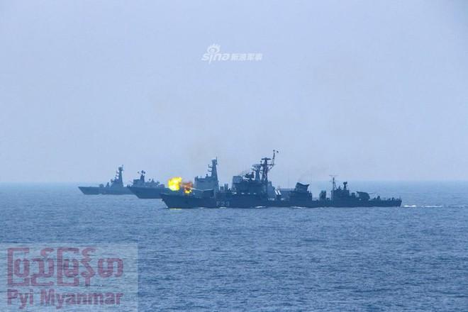 Choáng ngợp trước uy lực dàn chiến hạm nội địa của Hải quân Myanmar - Ảnh 1.
