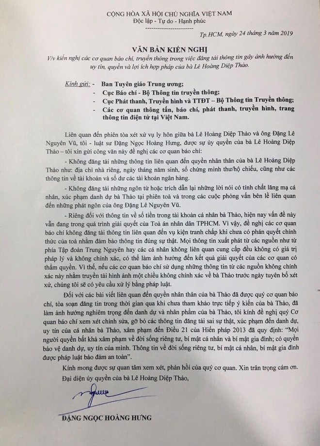 Hai điểm nghẽn cần khơi thông trong phiên xử ly hôn của vợ chồng vua cà phê Trung Nguyên - Ảnh 3.