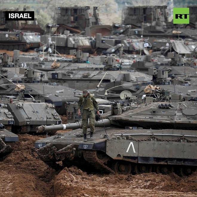 Sau 5 năm, Israel lại tung xe tăng Merkava trở lại Gaza hòng đè bẹp Hamas - Ảnh 4.
