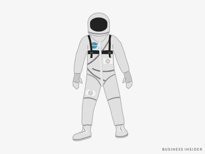 Hành trình tiến hóa của bộ đồ phi hành gia tại NASA: Cải biên từ đồ quân đội cho đến dự định... lắp chân nhện như Spider Man - Ảnh 1.