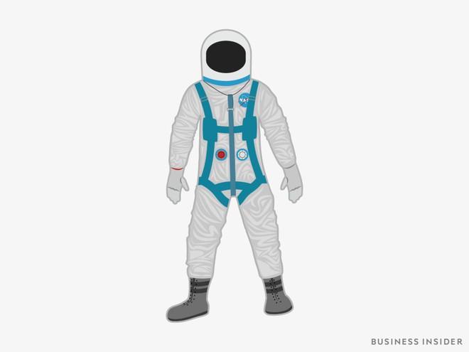 Hành trình tiến hóa của bộ đồ phi hành gia tại NASA: Cải biên từ đồ quân đội cho đến dự định... lắp chân nhện như Spider Man - Ảnh 2.