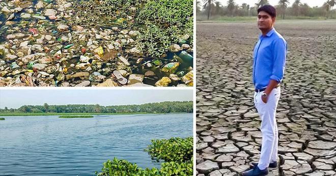 Chàng trai dành cả thanh xuân để hồi sinh mọi hồ nước tại Ấn Độ: Thế giới thực sự cần thêm nhiều người như anh - Ảnh 4.